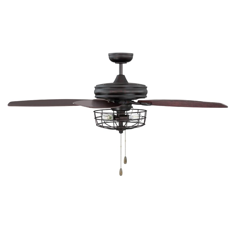 52 Glenpool 5 Blade Ceiling Fan Light