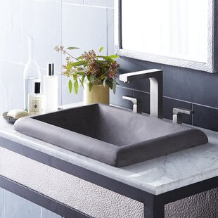 Affordable Price Montecito Stone Rectangular Drop-In Bathroom Sink By Native Trails, Inc.