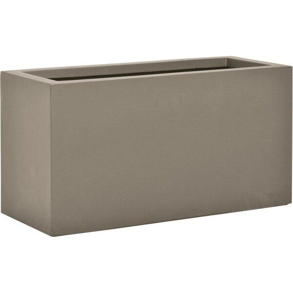Boxtrough Stone Planter Box by JANUS et Cie