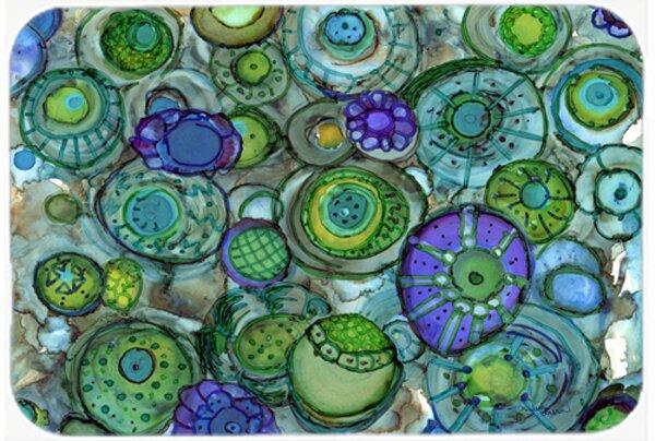 Abstract Kitchen/Bath Mat by Caroline's Treasures