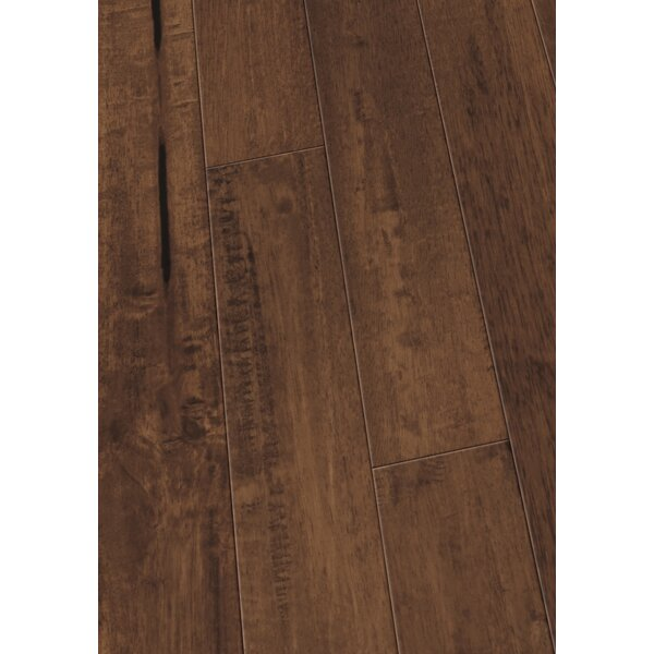 4 Solid Hevea Hardwood Flooring in Scraped Coconut Husk by Maritime Hardwood Floors