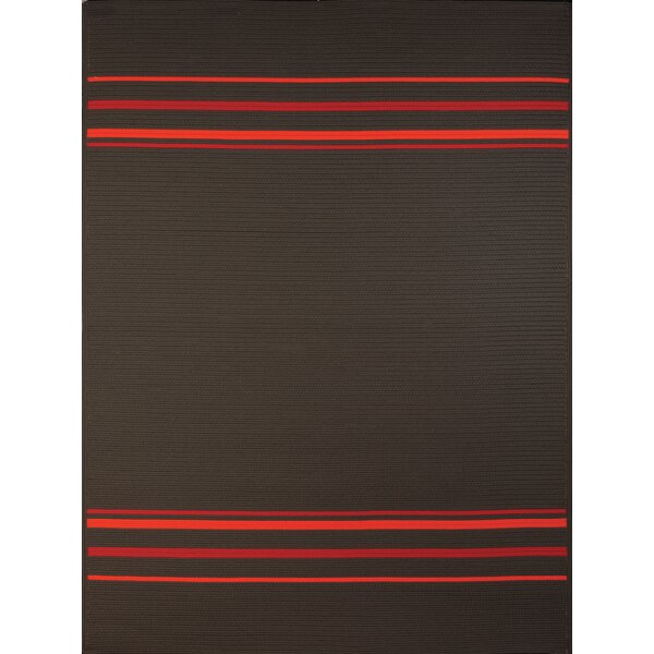 Bowes Charcoal Indoor/Outdoor Area Rug by Ebern Designs
