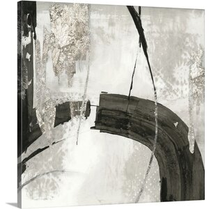 'Black Ink I' by PI Studio Painting Print on Canvas by Great Big Canvas