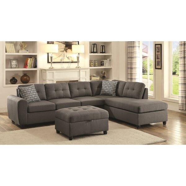 Hudson Square Reversible Sectional by Wrought Studio