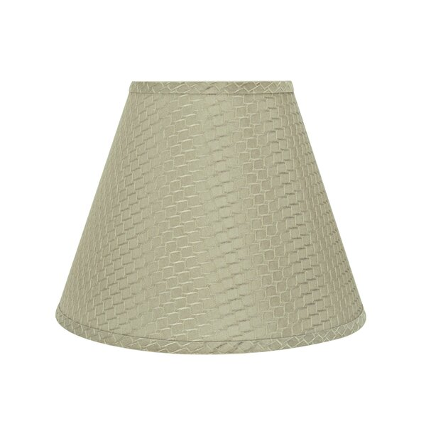 Transitional Hardback 14 Jacquard Textured Fabric Empire Lamp Shade by Red Barrel Studio