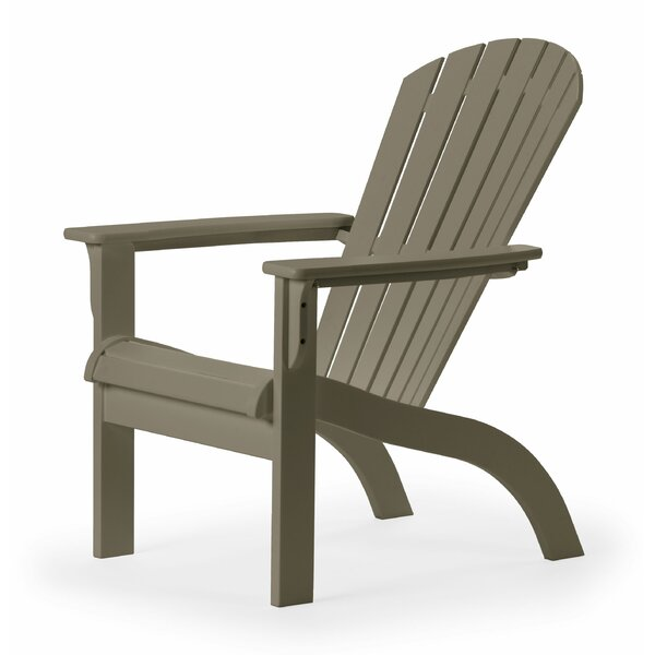 Plastic Adirondack Chair by Telescope Casual