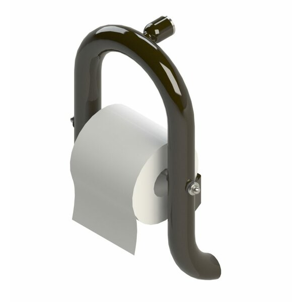 Toilet Paper Dispenser Grab Bar by Invisia Collection