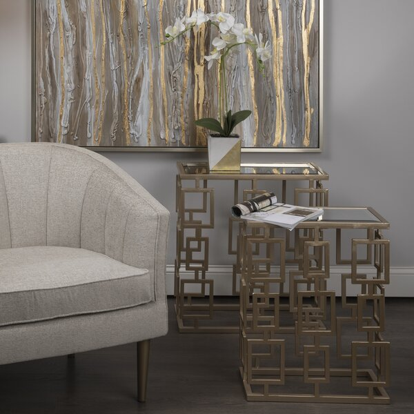Krause 2 Piece Nesting Tables by Everly Quinn