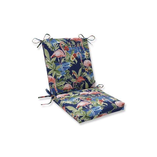 Flamingoing Lagoon Outdoor Rocking Chair Cushion