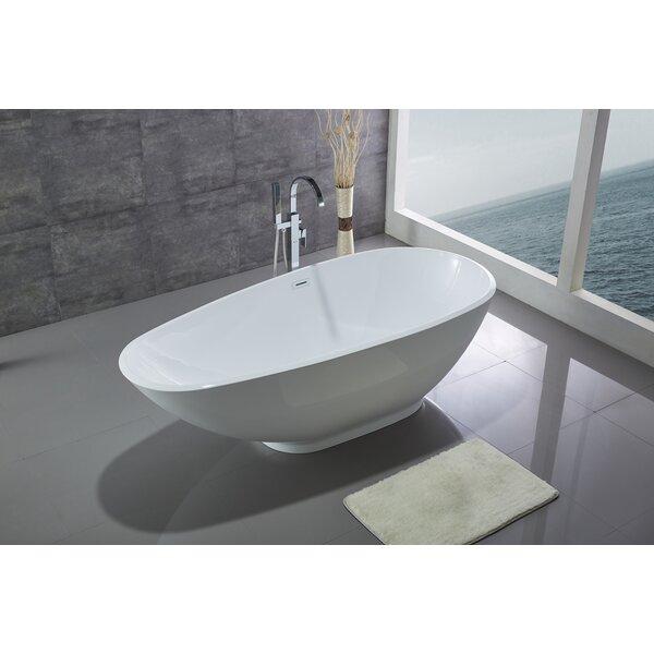 74.8 x 32.5 Bathtub by Legion Furniture