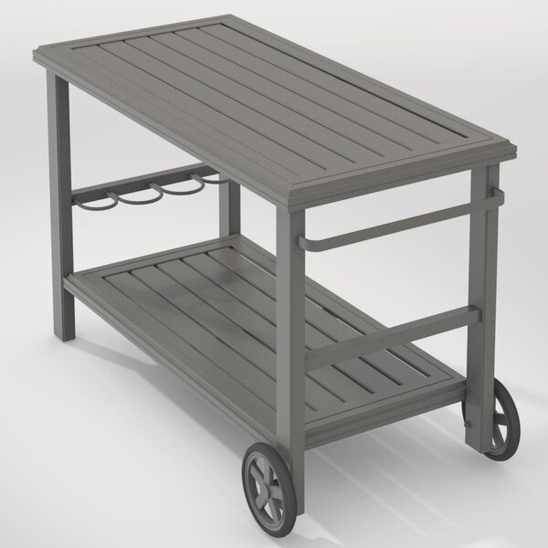 Banchetto Bar Serving Cart by Tropitone
