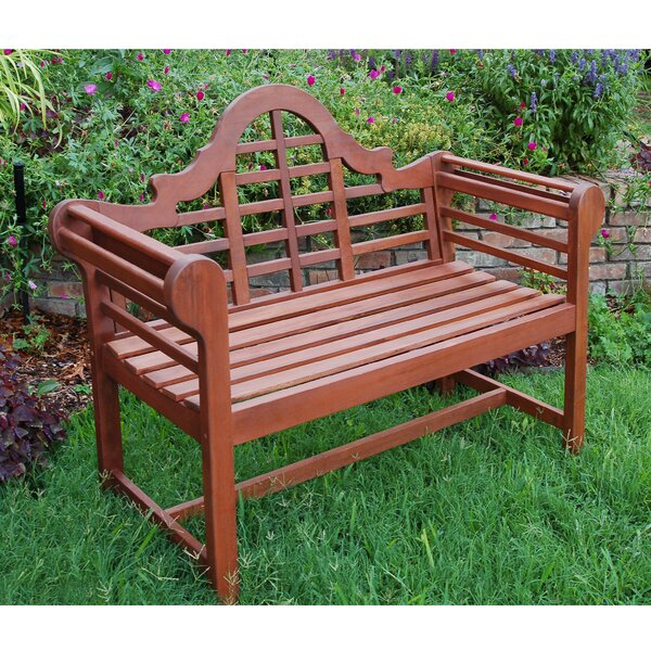 Ledya Solid Wood Garden Bench By Charlton Home