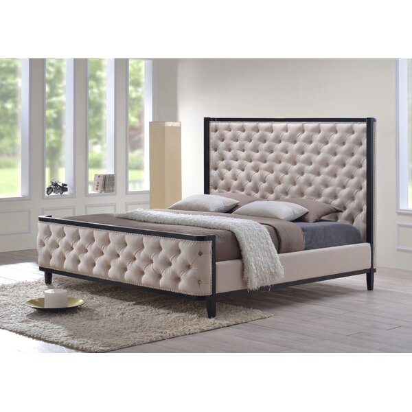 Kensington Upholstered Standard Bed by LuXeo