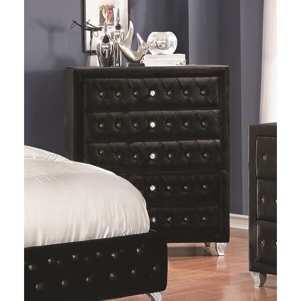 Burlingame 5 Drawer Chest by House of Hampton