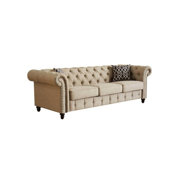 Modern Beautiful Whetzel Vintage Sofa by Darby Home Co by Darby Home Co
