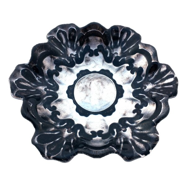 Lace Canapé 6.5 Appetizer Plate by Red Pomegranate