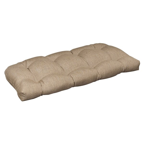Indoor/Outdoor Sunbrella Loveseat Cushion by Pillow Perfect