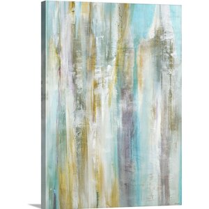 'Entice' by Jill Martin Painting Print on Wrapped Canvas by Great Big Canvas