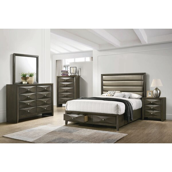 Middleton King Platform Solid Wood 5 Piece Bedroom Set by Brayden Studio