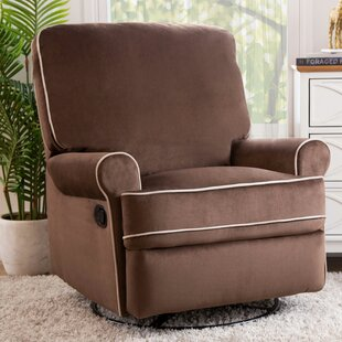 Online Reviews Roquemore Swivel Reclining Glider ByDarby Home Co