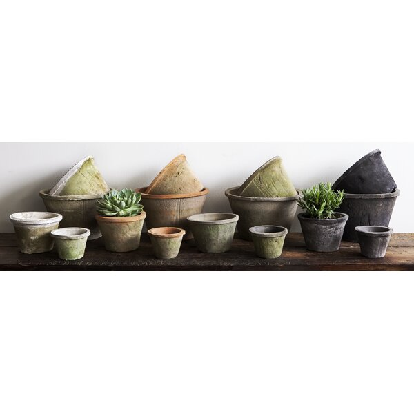 Craigmore Tapered Terra Cotta Pot Planter Set (Set of 2) by Canora Grey