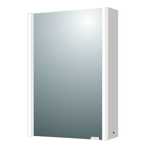 22 x 28 Surface Mount Medicine Cabinet with LED Lighting by Rebrilliant