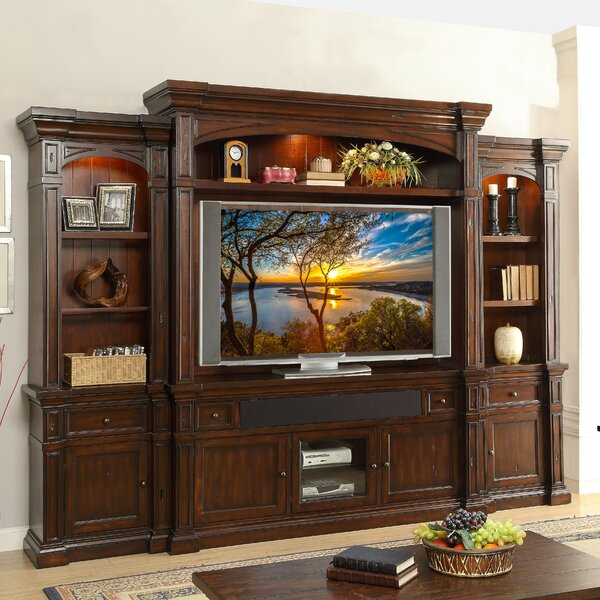 Denissa Traditional Entertainment Center by Darby Home Co
