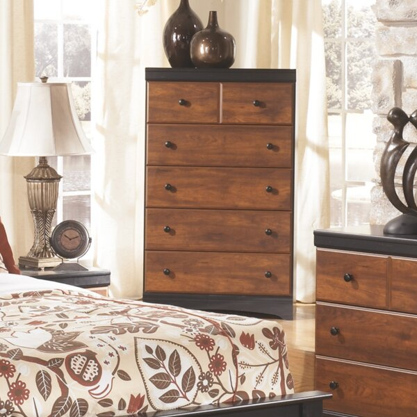 Ignacio 5 Drawer Chest by August Grove