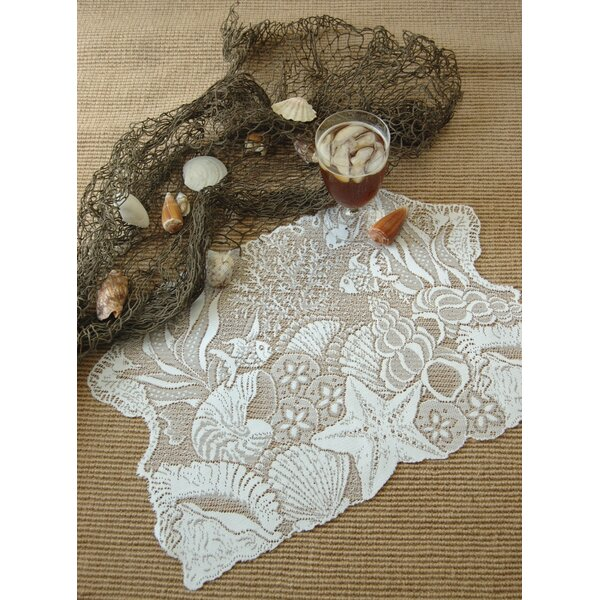 Seascape Placemat (Set of 2) by Heritage Lace