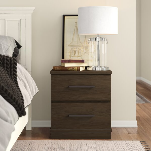 Kirkby 2 Drawer Nightstand by Three Posts Teen