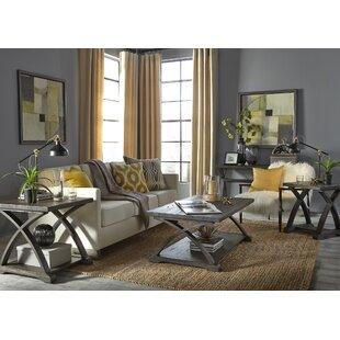Find Garth 3 Piece Coffee Table Set ByGracie Oaks