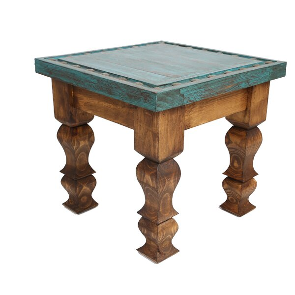 Clovis End Table I by Bungalow Rose