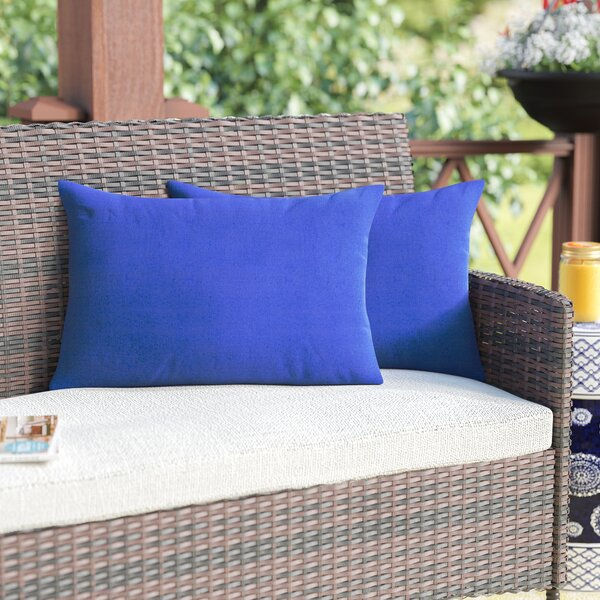 Sarver Outdoor Lumbar Pillow (Set of 2) by Andover Mills