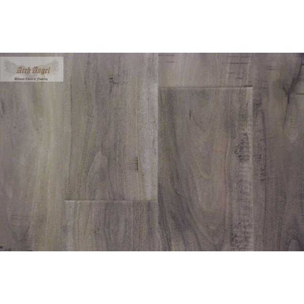 0.5 x 1.75 x 94 Canadian Maple End Cap in Silver Grey by All American Hardwood