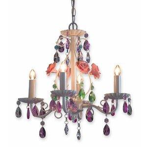 Secret Garden 4-Light Candle-Style Chandelier