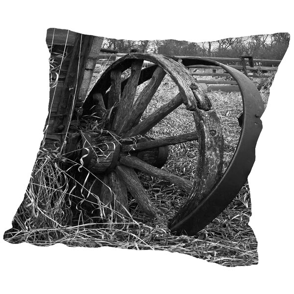 Derailed Throw Pillow by East Urban Home