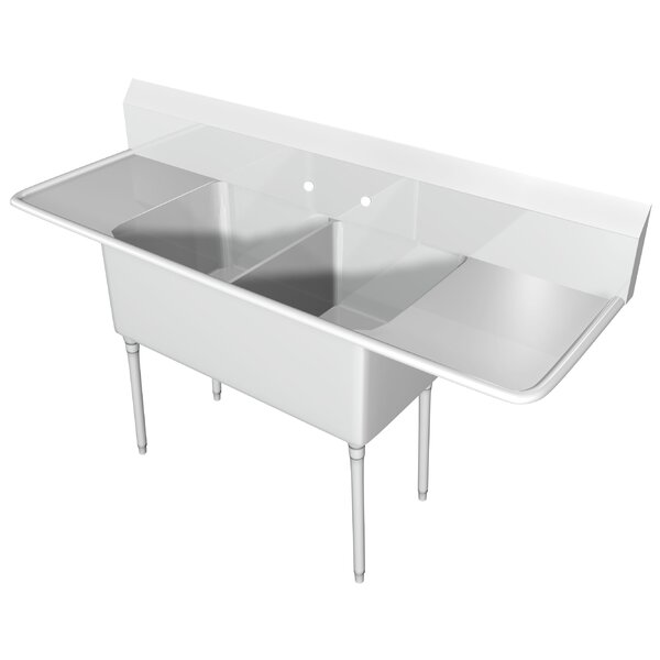100 x 33.5 Free Standing Service Sink by IMC Teddy