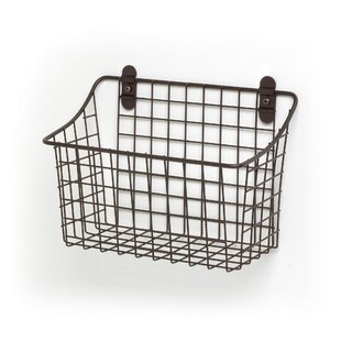 Wire Wall Mounted Baskets | Wayfair