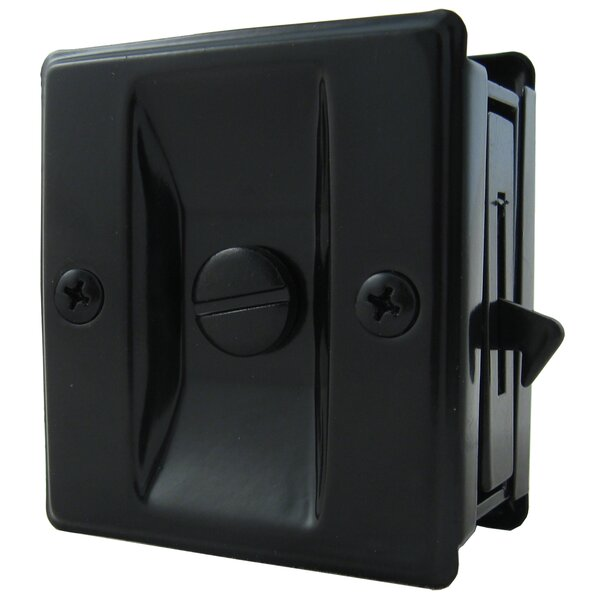 Square Pocket Door Lock by Stone Harbor Hardware