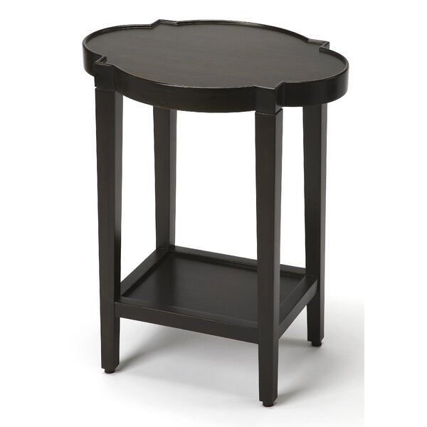 Danette Quatrefoil End Table by Rosdorf Park
