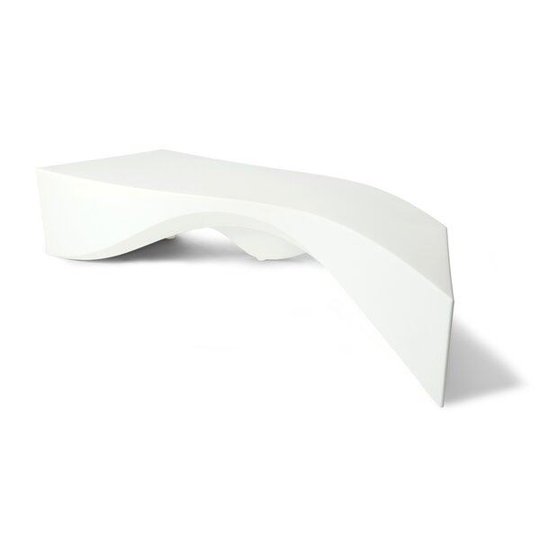 Riptide Plastic Bench by TONIK