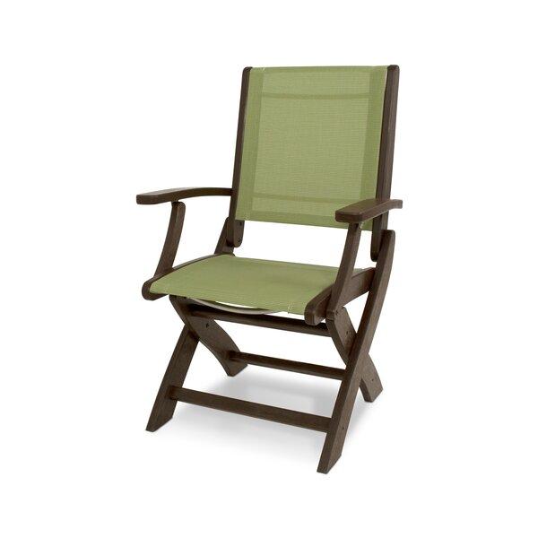 Coastal Folding Patio Dining Chair by POLYWOOD®