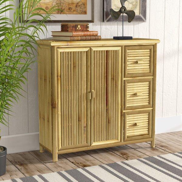 Whobrey Storage Shelf 2 Door Accent Cabinet