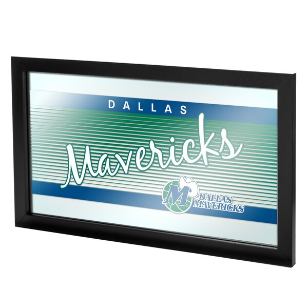 NBA Hardwood Classics Framed Logo Wall Mirror by T