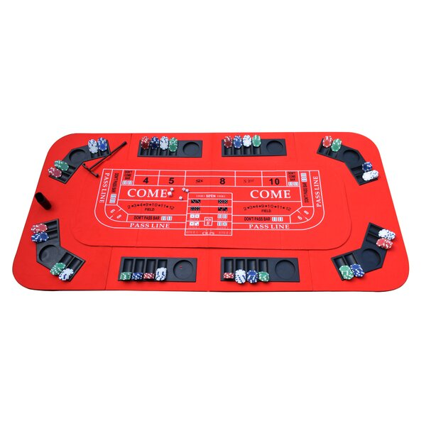 3-in-1 Portable Casino Tabletop by Hathaway Games