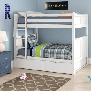 Shop For Isabelle Full over Full Bunk Bed with Storage ByViv + Rae