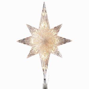 10 light mosaic bethlehem star tree topper - Christmas Star Tree Topper