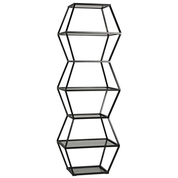 Priam Etagere Bookcase by Noir