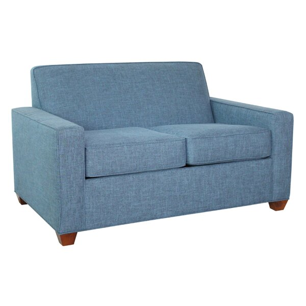 Modern Collection Shingleton Loveseat by Latitude Run by Latitude Run