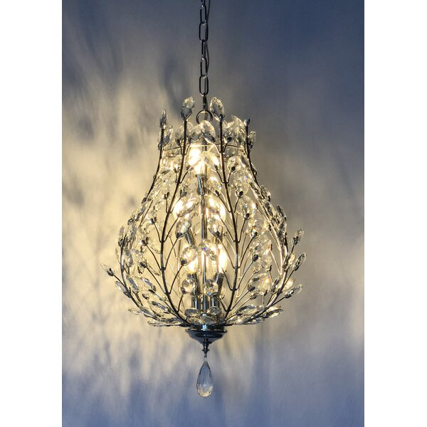 Katelyn 22 - Light Candle Style Empire Chandelier with Crystal Accents by Rosdorf Park Rosdorf Park